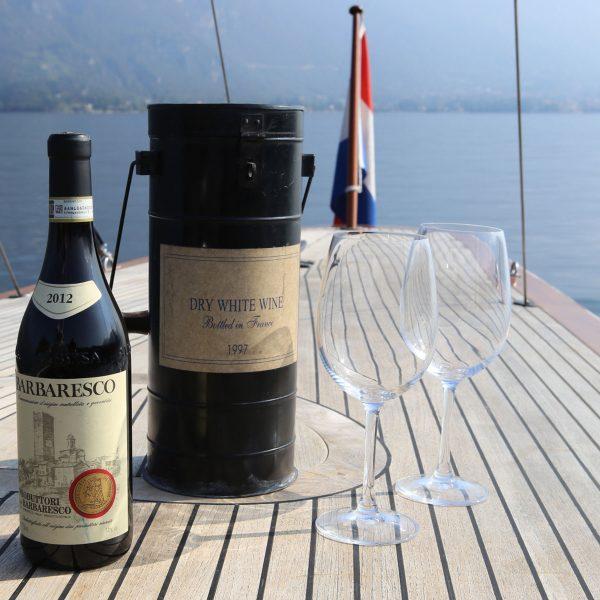 Bacco a vela (wine tasting tour)
